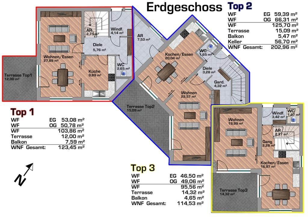 Plan Haus 1 - EG