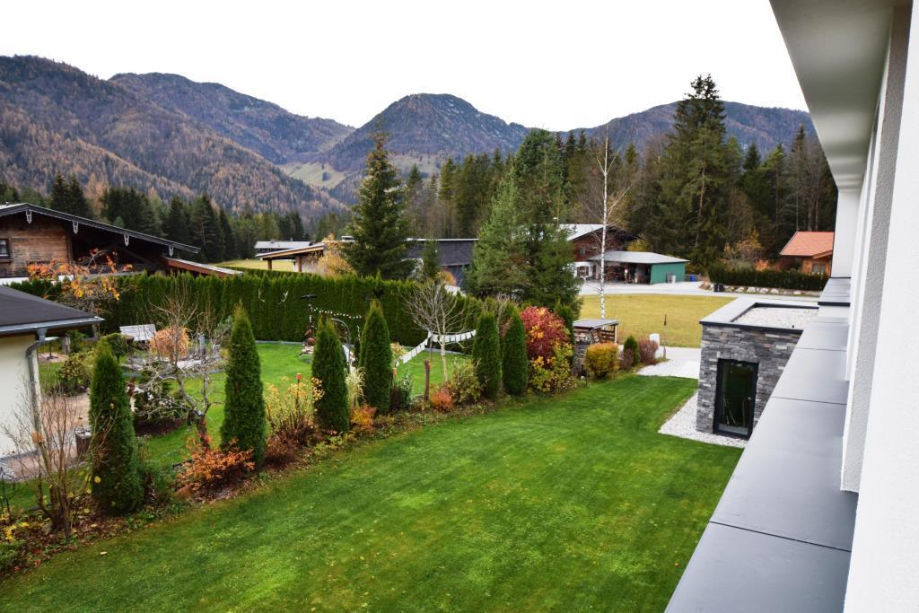 Ausblick und Garten