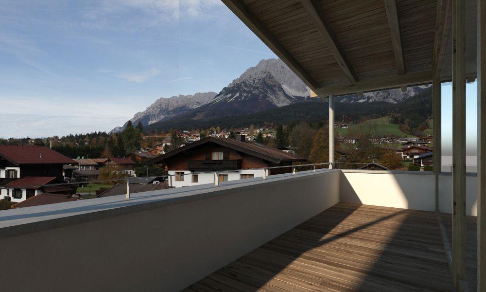 Aussicht Reihenhaus Top 1 - Terrasse 2