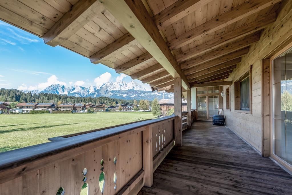 Whg. 1 Balkon Wilder Kaiser