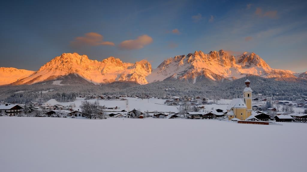 Going am Wilden Kaiser - Winter